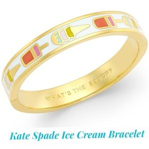 Kate Spade ♠️ Ice Cream 🍦 Scoop RARE Bracelet